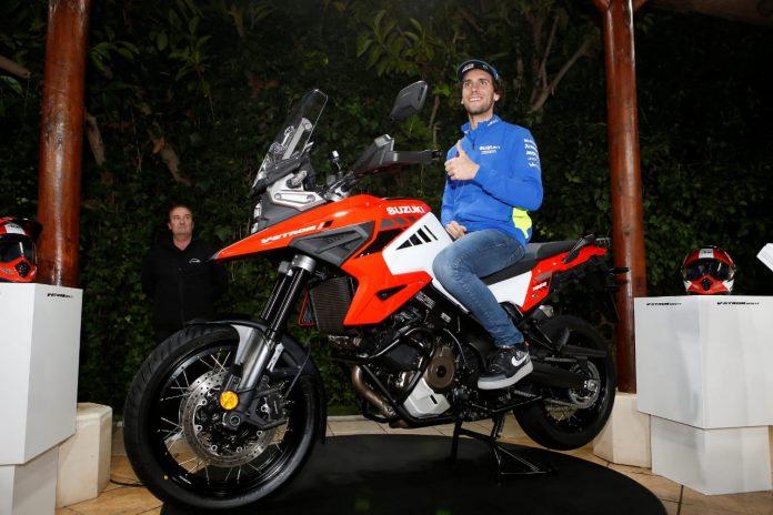 Rins Mengetes Suzuki V-Strom