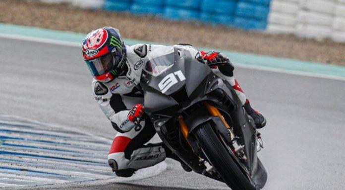 Leon Haslam uji sirkuit Jerez dengan Honda CBR1000RR-R