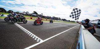 Race1 WorldSBK 2020 Australia