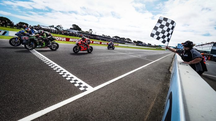 Race1 WorldSBK 2020 Australia