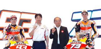Repsol Honda Racing Team Marc dan Alex Marquez