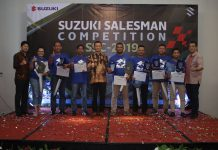 Pemenang Suzuki Salesman Competition 2019