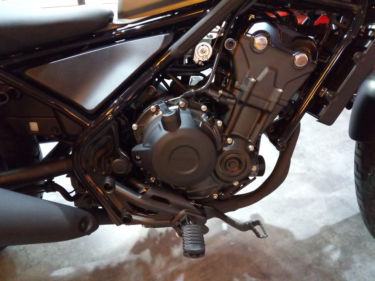Fitur Baru Honda Rebel500