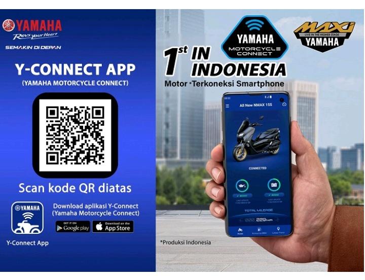 Koneksi Smarthone Pemilik NMax
