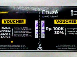 Voucher Restomax JHE 2020