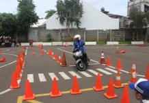Kompetisi Safety Riding SMK 2020