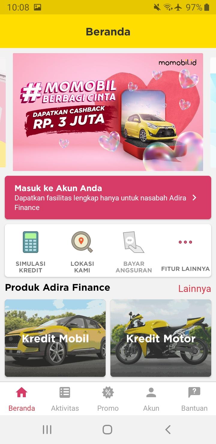 Aplikasi Adiraku Diluncurkan