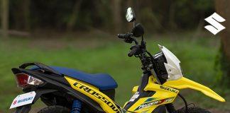 Suzuki Raider J Crossover