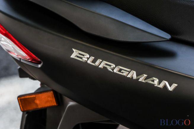 Suzuki Burgman Tidak Dipasarkan