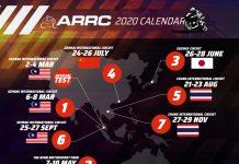 Kalender ARRC 2020