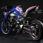 Kawasaki Z900 Captain America