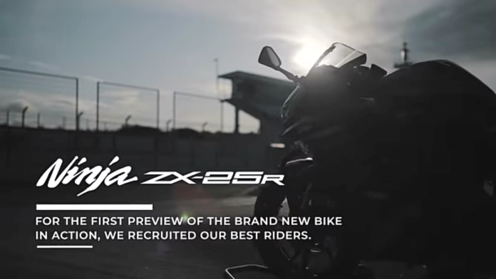Video Kawasaki ZX-25R