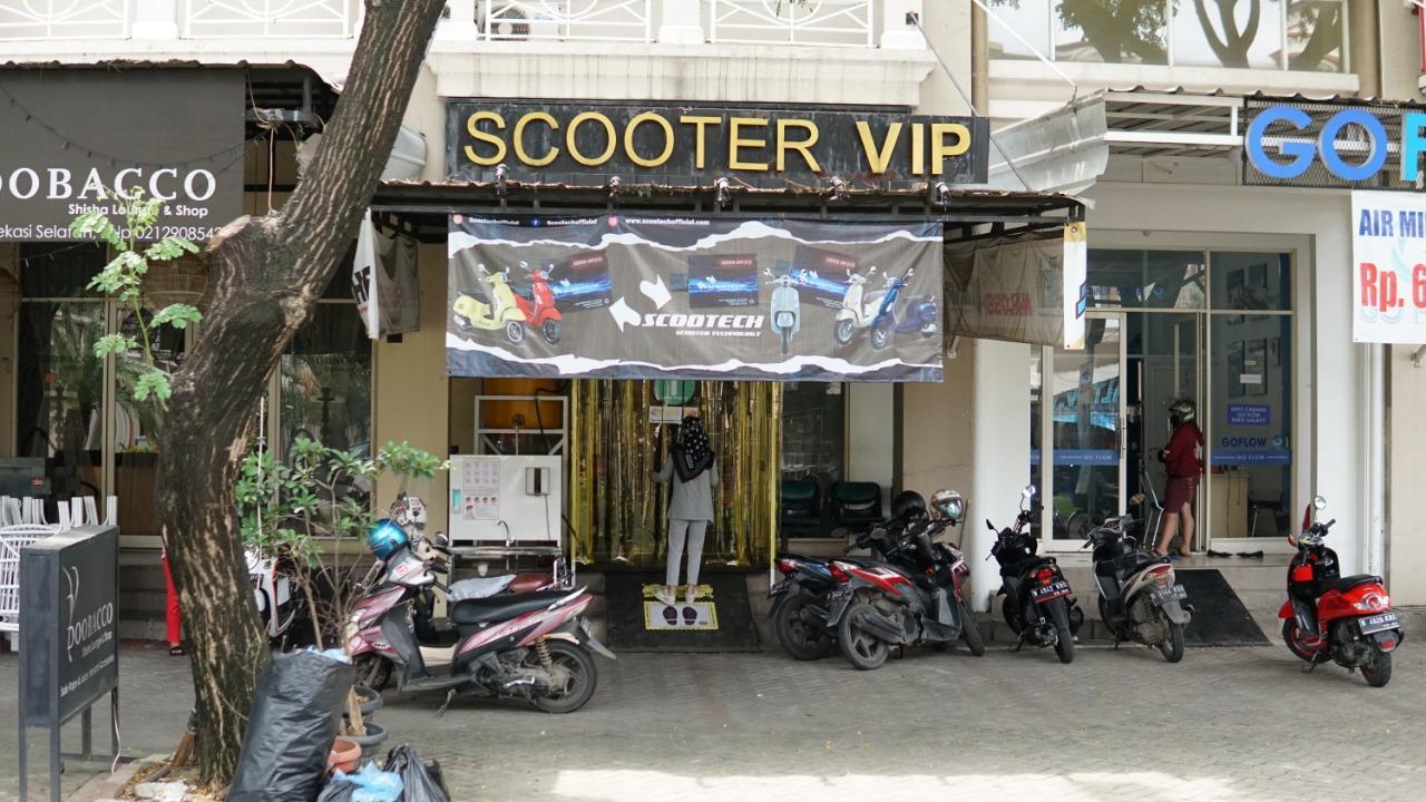 Ruangan Antiseptik Scooter VIP