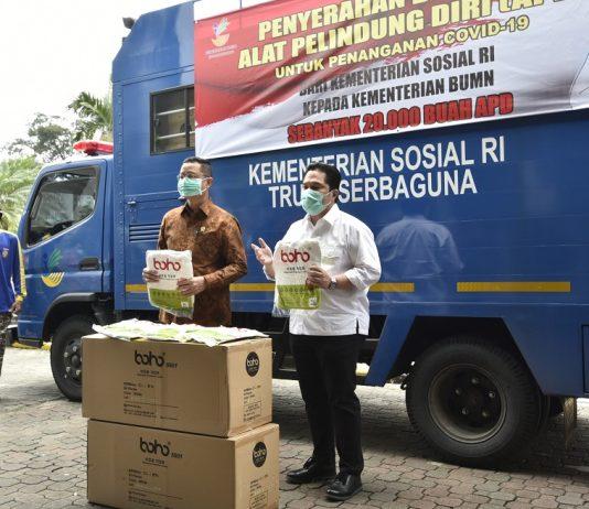 Relawan Indonesia Bersatu Donasikan
