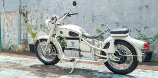 Motor listrik rasa BMW R27