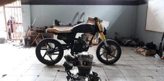 motor custom mercusuar
