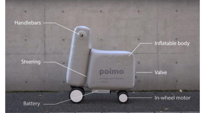 Skuter listrik Poimo