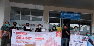 AHJ donasikan masker