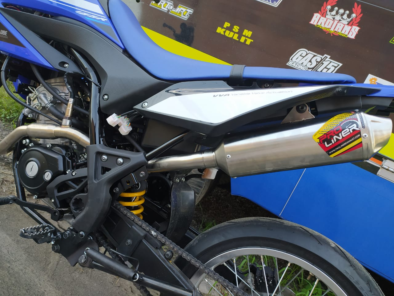 Supermoto Yamaha WR155