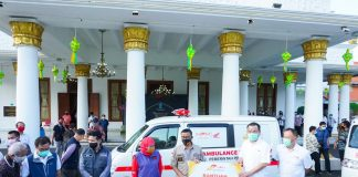 Honda Jatim Donasikan Ambulance