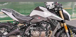 Tampilan Benelli SRK600