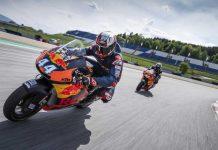 Mencoba Trek dengan KTM