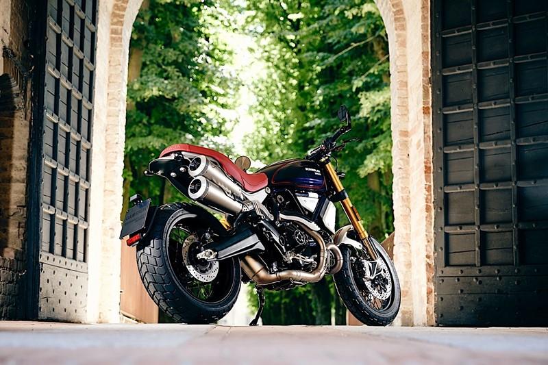 Ducati Scrambler 1100 Scuderia