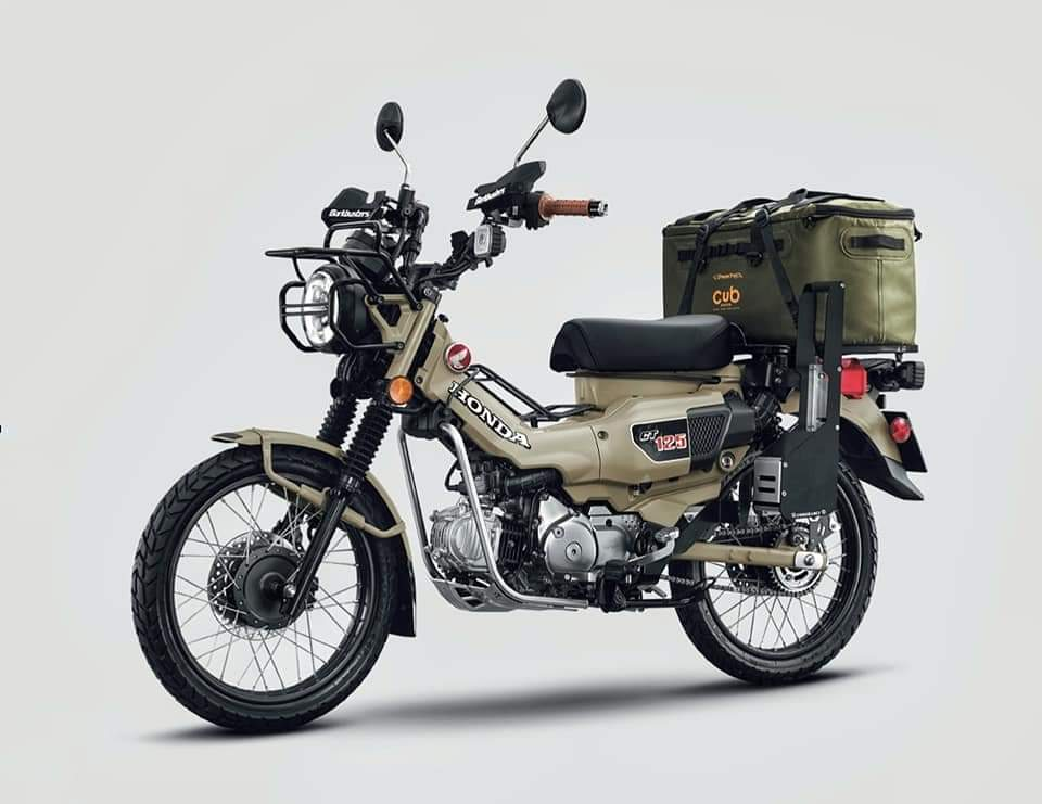 edisi khusus Honda CT125