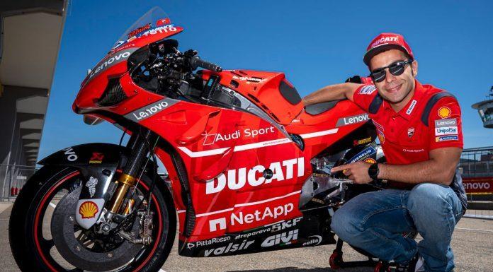 Danilo Petrucci Ducati