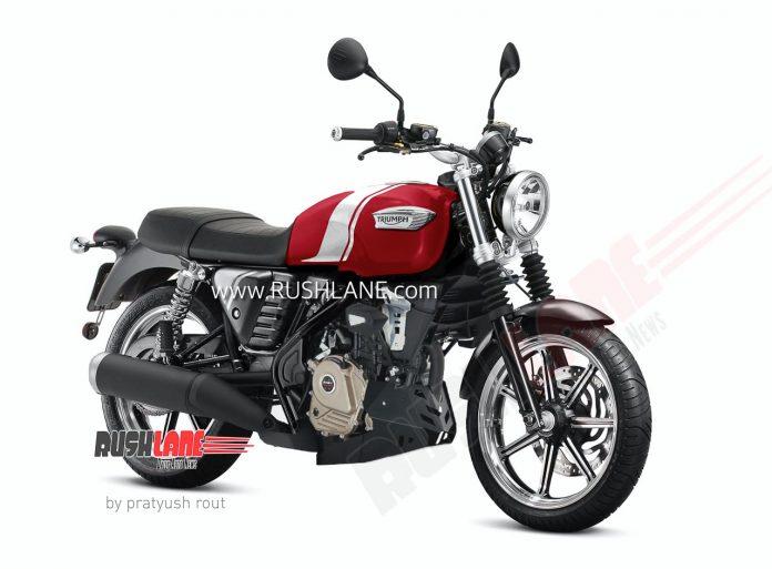 Bajaj Triumph 200cc