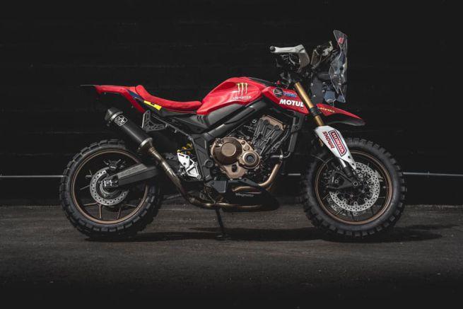 Honda CB650 R Wingmotor,