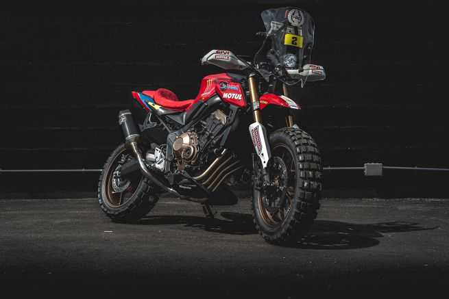 Honda CB650R Wingmotor