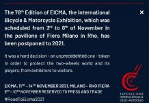 EICMA 2020 Batal
