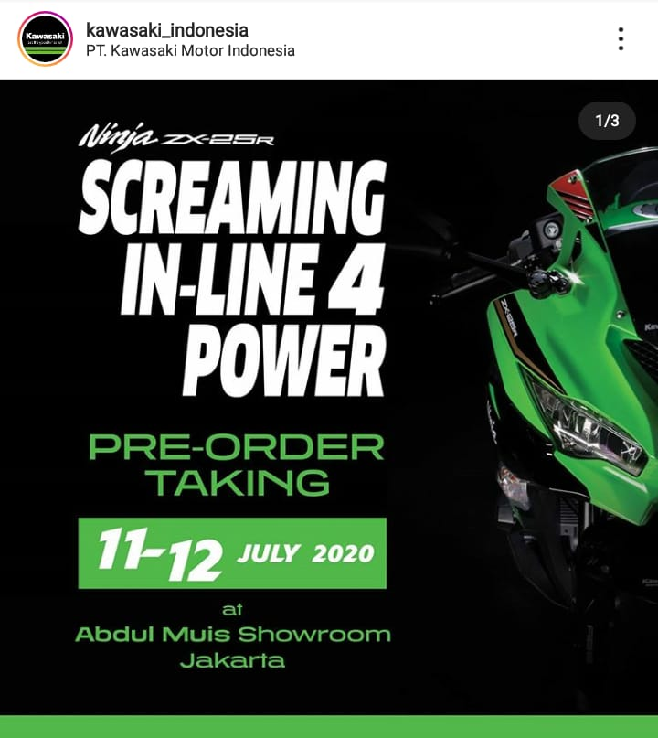 booking ZX25R