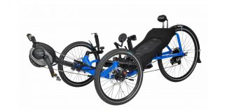 Sepeda Listrik Rebahan Catrike