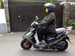 First Ride Kymco GP125
