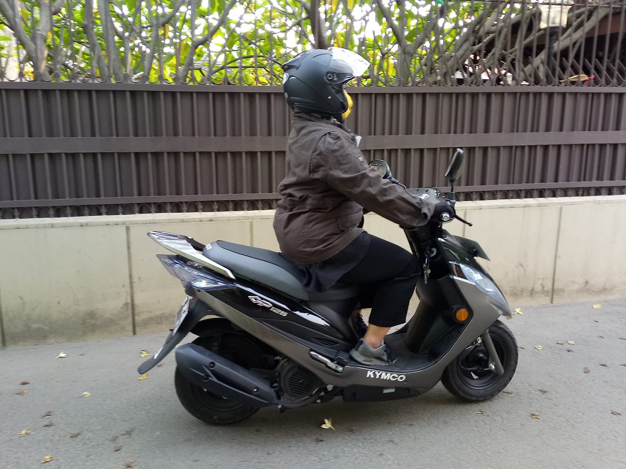 First Ride Kymco GP125