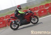 first ride Honda CBR250RR
