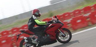 first ride Honda CBR250RR