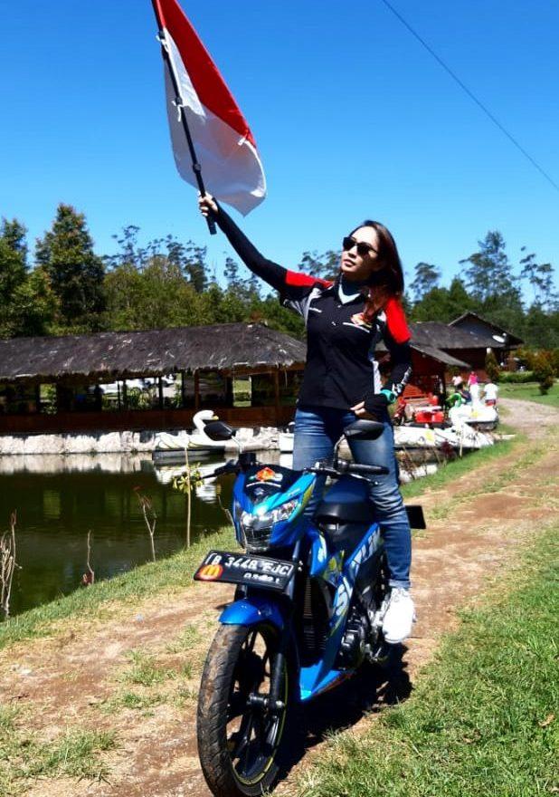 Bunga rider cantik