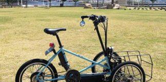 motor listrik roda 3