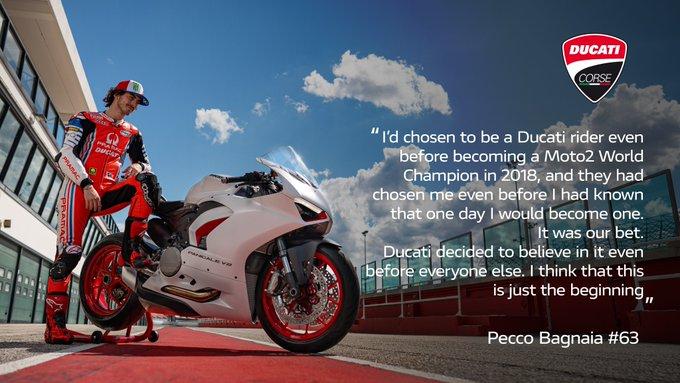 Line Up Pembalap Ducati