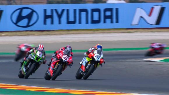 Race2 WorldSBK 2020 Teruel