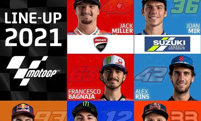 Pembalap MotoGP Musim 2021