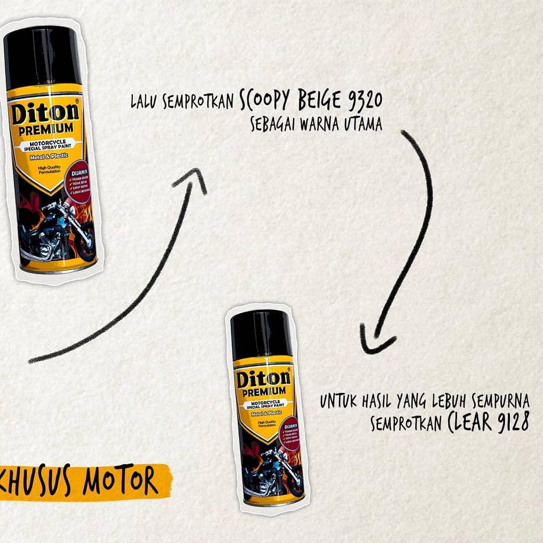 Diton Premium Scoopy Beige