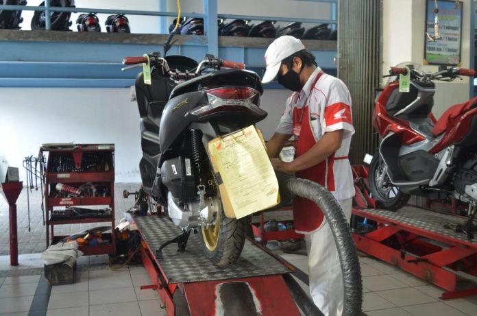 Promo Perawatan Matik Honda