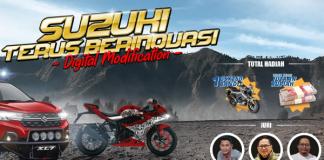 Kontes Modifikasi Digital Suzuki