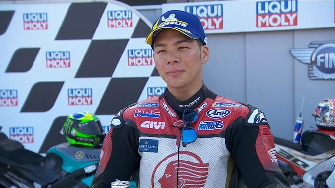 Nakagami Pole Position