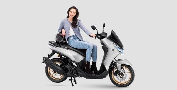 Warna Baru Yamaha Lexi