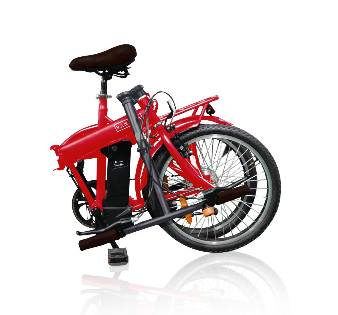 Sepeda lipat (seli) memang kompak dan praktis jika sudah dilengkapi motor listrik. Seperti yang ditampilkan Seli listrik Viar Panama.